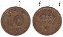 Изображение Монеты Швеция 10 эре 1919 Серебро VF
