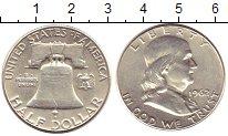 Изображение Монеты США 1/2 доллара 1962 Серебро UNC-