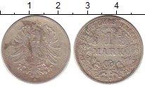Изображение Монеты Германия 1 марка 1876 Серебро VF G