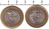 Изображение Монеты Португалия 200 эскудо 2000 Биметалл UNC-