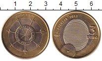 Изображение Монеты Словения 3 евро 2012 Биметалл UNC-