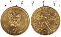 Изображение Монеты Польша 2 злотых 2014 Латунь UNC- Польша  на  Олимпиад