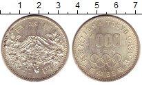 Изображение Монеты Япония 1000 йен 1964 Серебро UNC