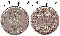 Изображение Монеты Индия 1 рупия 1862 Серебро XF Виктория