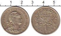 Изображение Монеты Португалия 1 эскудо 1966 Медно-никель XF