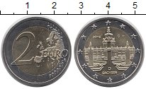 Изображение Монеты ФРГ 2 евро 2016 Биметалл UNC
