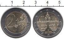 Изображение Монеты ФРГ 2 евро 2016 Биметалл UNC D  Саксония