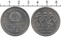 Изображение Монеты ГДР 10 марок 1988 Медно-никель XF Союз  Спорта  ГДР