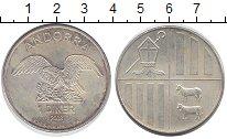 Изображение Монеты Андорра 1 динер 2008 Медно-никель XF