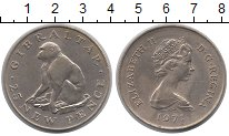 Изображение Монеты Гибралтар 25 пенсов 1971 Медно-никель UNC-