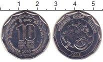 Изображение Мелочь Шри-Ланка 10 рупий 2013 Медно-никель UNC Серия провинции Шри-