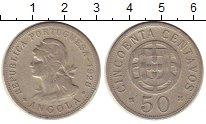 Изображение Монеты Ангола 50 сентаво 1928 Медно-никель VF