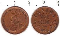 Изображение Монеты Канада 1 цент 1932 Бронза XF
