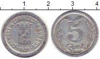 Изображение Монеты Франция 5 сантим 1921 Алюминий XF Токен.Эврё
