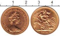 Изображение Монеты Великобритания 1 соверен 1974 Золото UNC