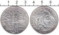 Изображение Монеты Италия 10 евро 2004 Серебро UNC Генуя - культурная