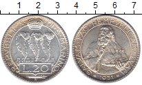 Изображение Монеты Сан-Марино 20 лир 1931 Серебро UNC-