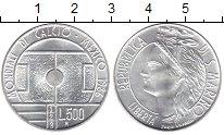 Изображение Монеты Сан-Марино 500 лир 1986 Серебро UNC-