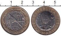 Изображение Монеты Сан-Марино 1000 лир 2000 Биметалл UNC- Ласточка