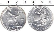Изображение Монеты Италия 2000 лир 1999 Серебро UNC- Национальный музей И