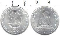 Изображение Монеты Италия 200 лир 1988 Серебро UNC-