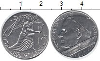 Изображение Монеты Ватикан 10 лир 1985 Алюминий XF