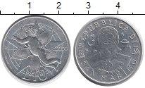 Изображение Монеты Сан-Марино 10 лир 2000 Алюминий UNC- Милленниум