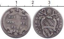 Изображение Монеты Ватикан 1 гроссо 1739 Серебро VF
