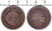 Изображение Монеты Сицилия 2 лиры 1813 Серебро XF-