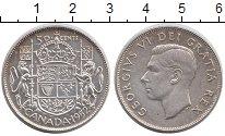 Изображение Монеты Канада 50 центов 1952 Серебро XF+