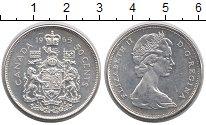 Изображение Монеты Канада 50 центов 1965 Серебро XF+
