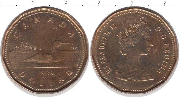 1 доллар канада 1989 цена 5 рублей 2003 года