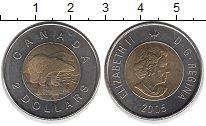 Изображение Монеты Канада 2 доллара 2005 Биметалл UNC- Елизавета II.  Поляр