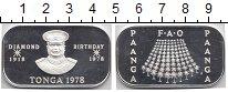 Изображение Монеты Тонга 1 паанга 1978 Серебро Proof- ФАО.  60 - летие  ко