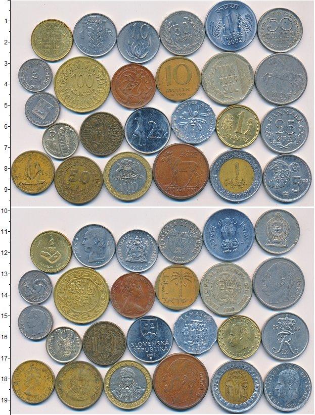 Изображение Лоты монет для начинающих нумизматов Монеты стран мира Лот №01328 0