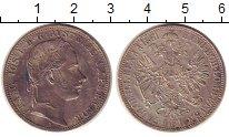 Изображение Монеты Австрия 1 флорин 1861 Серебро XF