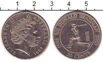 Изображение Монеты Австралия 20 центов 2001 Медно-никель XF