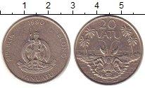 Изображение Монеты Вануату 20 вату 1990 Медно-никель XF