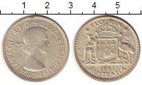 Изображение Монеты Австралия 1 флорин 1961 Серебро XF+