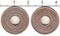 Изображение Монеты Палестина 5 милс 1939 Медно-никель XF