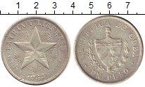 Изображение Монеты Куба 1 песо 1933 Серебро XF-