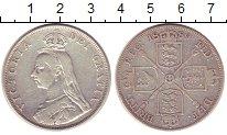 Изображение Монеты Великобритания 2 флорина 1889 Серебро XF-