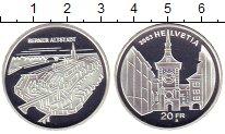 Изображение Монеты Швейцария 20 франков 2003 Серебро Proof Старый  Берн