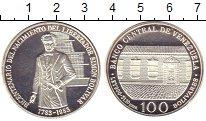 Изображение Монеты Венесуэла 100 боливар 1983 Серебро UNC Симон Боливар