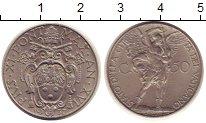 Изображение Монеты Ватикан 50 сентесимо 1937 Медно-никель XF