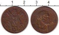 Изображение Монеты Ватикан 10 сентесимо 1930 Бронза XF