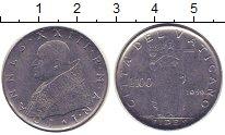 Изображение Монеты Ватикан 100 лир 1959 Сталь XF