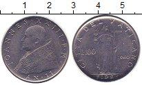 Изображение Монеты Ватикан 100 лир 1960 Сталь XF Иоанн XXIII