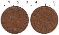 Изображение Монеты Новая Зеландия 1 пенни 1958 Бронза XF