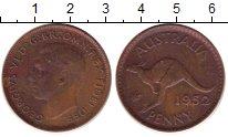 Изображение Монеты Австралия 1 пенни 1952 Бронза XF